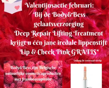 Kopie-van-Valentijnsactie_-Bij-de-gelaatsverzorging-BodyBess-Deep-Repair-Lifting-Treatment-krijg-je-1-jane-iredale-lippenstift-Lip-Cheek-Pink-GRATIS-1