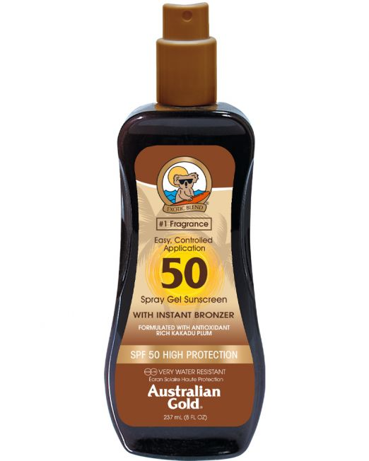 Australian Gold Spray Gel SPF50